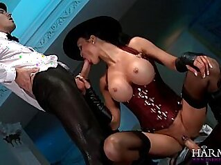 Jasmine Jae is in charge and demands a big dick
